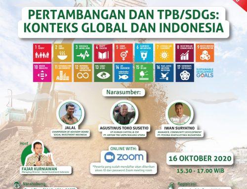 SIRD 14: Pertambangan dan TPB/SDGs: Konteks Global dan Indonesia