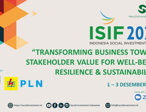 Materi Presentasi ISIF 2020: Transforming Business Toward Stakeholder Value for Well-being, Resilience & Sustainability