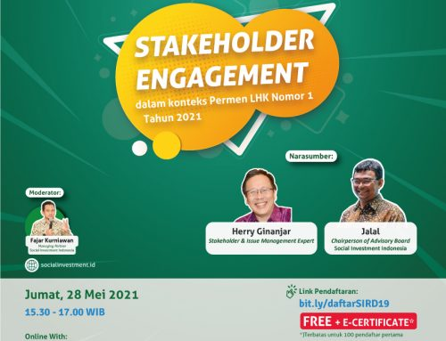 SOCIAL INVESTMENT ROUNDTABLE DISCUSSION (SIRD) #19