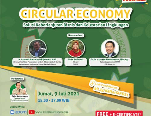 SOCIAL INVESTMENT ROUNDTABLE DISCUSSION (SIRD) #21